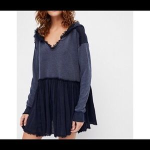 Free People Summer Dreams Oversized Pullover